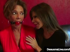 Boug Cougars Deauxma & Ashley Renee Kahretsin Topu Gagged!