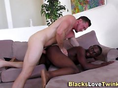Amateur folla culo negro