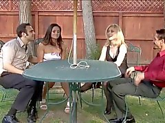 Nina Hartley ve Stephanie Swift takas ortakları