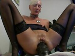 grand mamie d'introduction anal