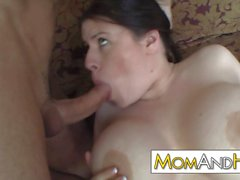 MILF mom Daphne Rosen has huge tits