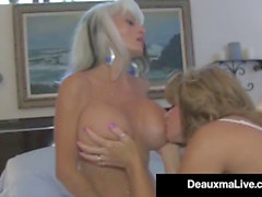 Texas cougar Deauxma Watches As Sally DAngelo smashes hubby!