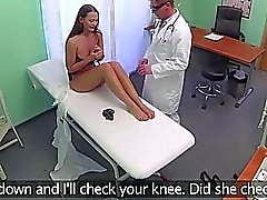 New patient gets rammed by the doctor