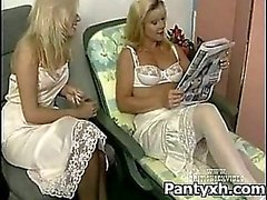 Verleidelijke Geile Chick Making Out Met Sexy panty