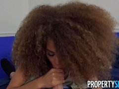 PropertySex Petite Cecilia Lion Pounded by Big Dick