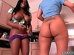 Jada Fire with her big black ass part3