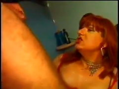 Massage from a thick tgirl