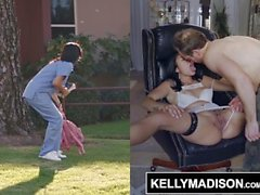 KELLY MADISON - Hot Nurse Vanessa Sky Bound and Ass Fucked
