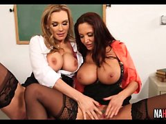 Sex Ed Class With 2 Busty Teachers Ava Addams, Tanya Tate