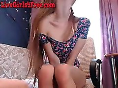 Sıska Nerdy Teen Blowjob Webcam