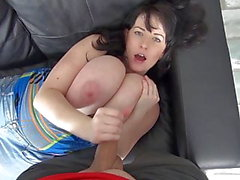 Huge Natural Tits - Fuck Suck and Facial
