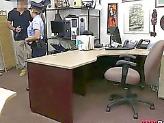 Latina police officer banged by pawn