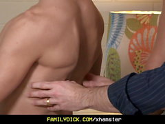 FamilyDick - Younger Stepbrother Gets His Asshole Reamed