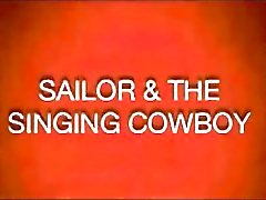 Gay Vintage 50 : n - Sailor ja Laulaminen Cowboy