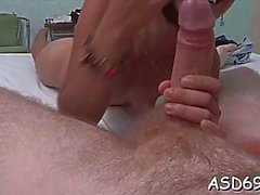 ambitious asian brunette girlfriend gets it too hard