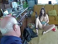 RUSYA Old Man & Young Slut Kız 001