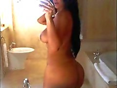 Kim Kardashian nue Celebrity Hall of Fame