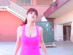BUSTY Helena finally is going to bang Jordi!!