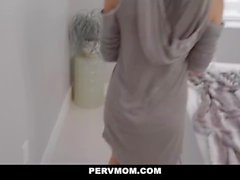 PervMom - Horny MILF Blows Her Big Cock Stepson