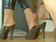 shiny tayt catsuit foot Licking cilalama fahişe
