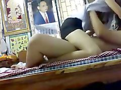 Students Fucking with girlfriend In Bedroom.