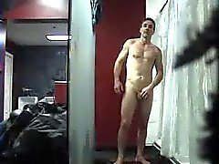 Str8 spy men in lockerroom