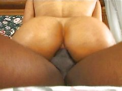 Awesome ebony ass anal penetration