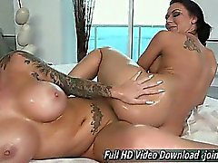Rachel Starr And Christy Mack teasing us with their sexy bod