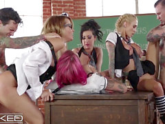 WickedPictures - Classroom hookup Led By tutor