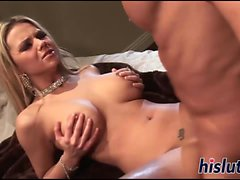Ashlynn Brooke gets rammed by her man