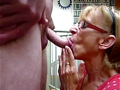 My top 10 granny jizz flow scenes