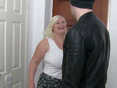 AgedLovE Busty Mature Lacey Starr Fellation