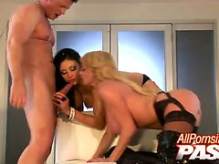 Audrey Bitoni and Taylor Wane both love the idea of sharing