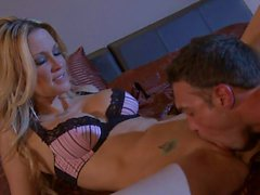 Marcus London loves licking Jessica Drake s hot pussy