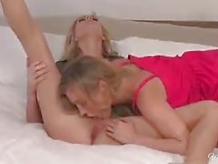 Samantha Saint and Brett Rossi play together