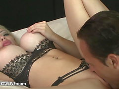 EROTIQUE TV Chessie Kay Mouth Fuck & Rides ERIC JOHN LIVE