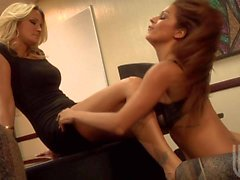 horny milf lesbians eating pussy