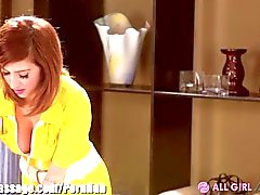 AllGirlMassage Dillion Harper und April O'Neil Scissor