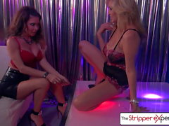 The Stripper Experience - Jessica Jaymes & Julia Ann sucking