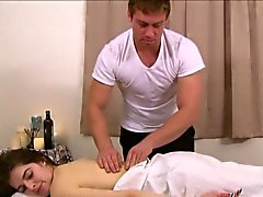Massage tgirl cocksucking her masseur