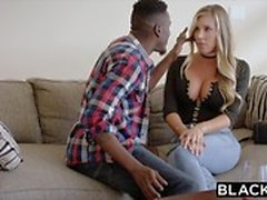 BLACKED Samantha Saint Cheats with BBC