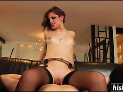 Bobbi Starr enjoys a hard schlong
