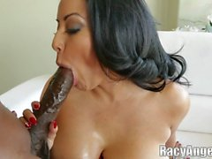 Kiara Mia Giving a Point of View Show with Big Black Cock of Lexington Steele