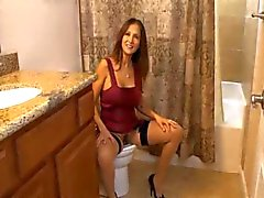 Step-mom caught in toilet 1