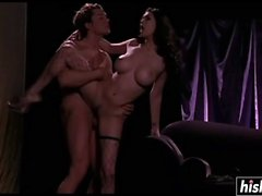 Tera Patrick in stockings gets drilled