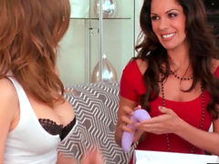 Emily Addison and Kirsten Price 69 and play