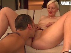 'La Novice - Huge Ass French Mature Tries Anal For The First Time And Loves It'