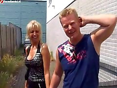 De milf Dutch Blonde Anal 9857