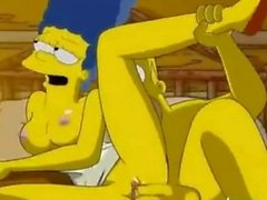 anime simpsons porno