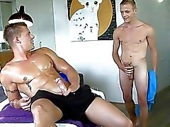 Raunchy and wild 10pounder sucking for gay hunk